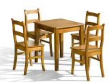 Stół Belg + krzesło K 9