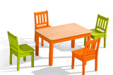 stol maciuskrzesla macius 160x106 stół maciuś+krzesła maciuś
