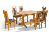 stol mars III krzeslo p19 160x105 stół mars III +krzesło p19