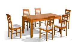 stol orion p prostokatny krzeslo p14 240x140 Stoły i krzesła