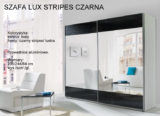 LUX STRIPES CZARNA 160x116 LUX STRIPES