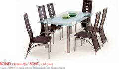 BONDK4 240x140 Stoły i krzesła