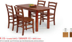DINNER 115RAFO 240x140 Stoły i krzesła