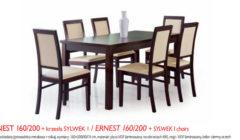 ERNEST 160 200SYLWEK 240x140 Stoły i krzesła