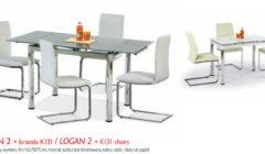 LOGAN II K131 240x140 Stoły i krzesła