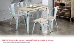MAGNUM PROSTOKONTK204 240x140 Stoły i krzesła