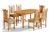 stol orionkrzeslo SW 160x105 stół orion+krzesło SW