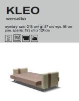 KLEO 157x200 KLEO WERSALKA
