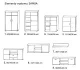 WYMIARY 14 160x140 SAMBA