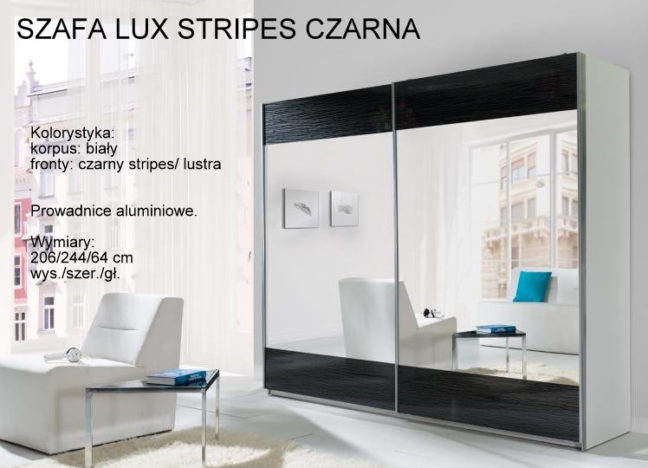 LUX STRIPES CZARNA 648x468 LUX STRIPES CZARNA