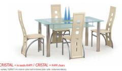 CRISTALK4M 240x140 Stoły i krzesła