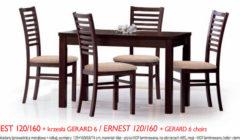 ERNEST120 160GERARD 6 240x140 Stoły i krzesła