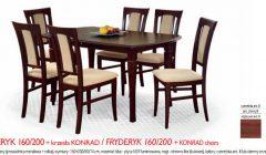FRYDERYK 160 200KONRAD 240x140 Stoły i krzesła