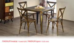 MAGNUM KAWADRATK205 240x140 Stoły i krzesła