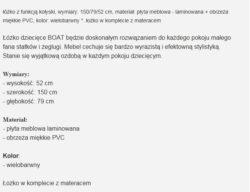 BOAT 1 250x192 ŁÓŻKO BOAT