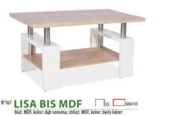 LISA BIS MDF DAB SONOMA BIALY 250x168 LISA S