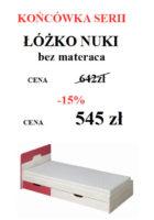 NUKI DO STRONY 140x200 Meble Wójcik – atrakcyjne promocje