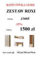 ROXI DO STRONY 139x200 Meble Wójcik – atrakcyjne promocje