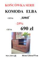 komoda ELBA 141x200 Meble Wójcik – atrakcyjne promocje