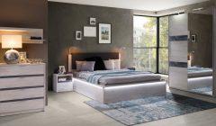 DENVER 22 240x140 - Łóżka do sypialni - wygodne i piękne meble do sypialni