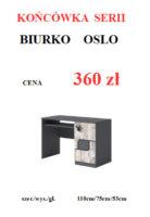 BIURKO OSLO 138x200 Meble Wójcik – atrakcyjne promocje