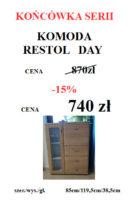RESTOL DAY STRINA 139x200 Meble Wójcik – atrakcyjne promocje