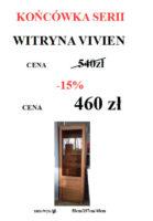 WITRYNA VIVIEN STRONA 139x200 Meble Wójcik – atrakcyjne promocje