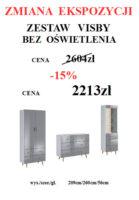 ZESTAW VISBY 139x200 Meble Wójcik – atrakcyjne promocje