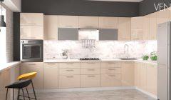 VENTO CREM 240x140 Meble kuchenne modułowe