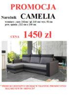 CAMELIA DO STRONY 141x200 Meble Wójcik – atrakcyjne promocje