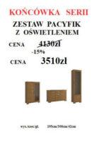 PACYFIK DO STRONY NOWA KONCOWKA SERII 140x200 Meble Wójcik – atrakcyjne promocje